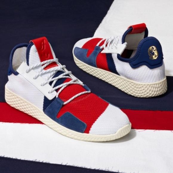 separation shoes ffc6f a92ba Pharrell Williams x Adidas Tennis Hu V2 BBC - NEW NWT